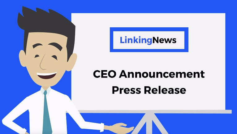 Ceo Announcement Press Release Format Example Template
